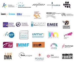 European Music Representatives signatories appeal to President Juncker