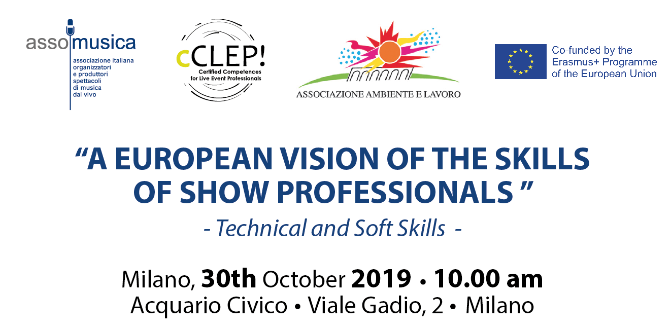 A EUROPEAN VISION OF THE SKILLS OF SHOW PROFESSIONALS